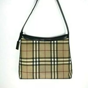 Burberry Classic Nova Check Coated Canvas Purse